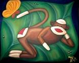 Sock Monkey Art