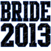Bride 2013