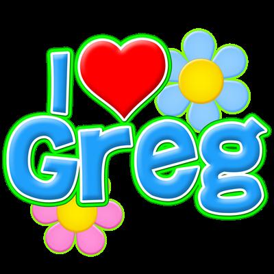 I Heart Greg