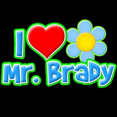 I Heart Mr. Brady
