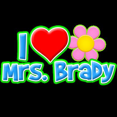 I Heart Mrs. Brady