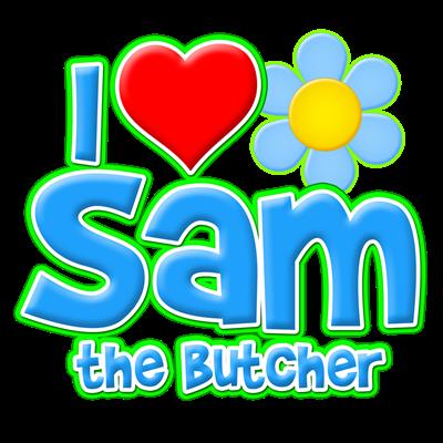 I Heart Sam the Butcher