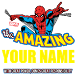 Personalized Amazing Spiderman