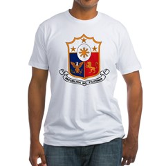 Philippines Coat of Arms Fitted T-Shirt