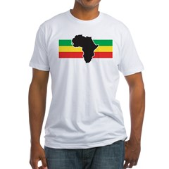 africa2 Fitted T-Shirt
