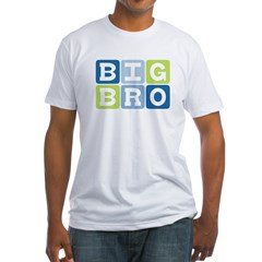 Big Bro Fitted T-Shirt