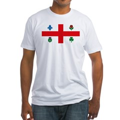 Montreal Flag Fitted T-Shirt