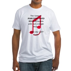 The Longest Season Marching Band Fitted T-Shirt