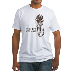Fiji Mermaid Men''s Fitted T-Shirt