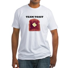 TEAM TOAST Fitted T-Shirt