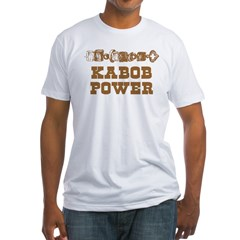 Kabob Power Fitted T-Shirt