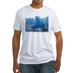 3-Patagonia Blue Ice.jpg Fitted T-Shirt