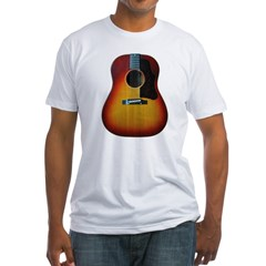 Gibson J-45 guitar Fitted T-Shirt
