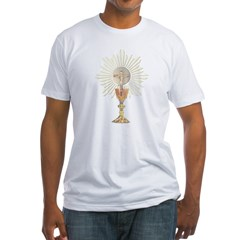 Eucharistic Fitted T-Shirt