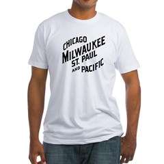 Milwaukee Road 1 Fitted T-Shirt