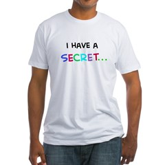 I have a secret - train Fitted T-Shirt