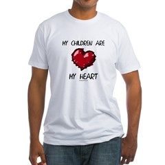 dcaremyheart Fitted T-Shirt