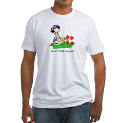 garden therapy Fitted T-Shirt