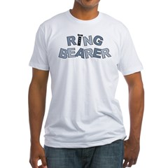 BP Letters Ring Bearer Fitted T-Shirt