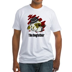 The Dogfather Fitted T-Shirt