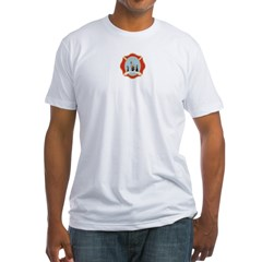 Long Sleeve 9-11 Memorial T-Shirt Fitted T-Shirt