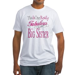 Big Sister Fitted T-Shirt