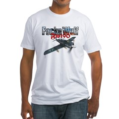 Focke Wulf Fw190 T-Shirt (2-sided) Fitted T-Shirt