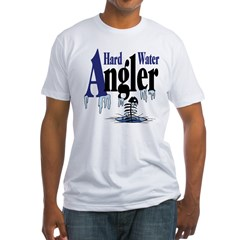 Hard Water Angler Fitted T-Shirt