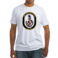 USS Gunston Hall LSD 44 Ash Grey Fitted T-Shirt