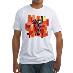 skinkindude Fitted T-Shirt