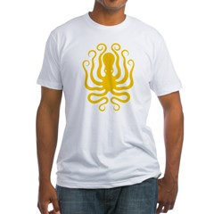 Octapus 8 Big Fitted T-Shirt