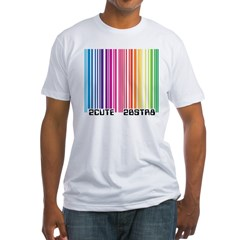Gay Scan Fitted T-Shirt