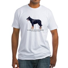 Tenderhearted Guardian Fitted T-Shirt