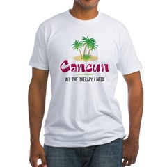 Cancun Therapy - Fitted T-Shirt