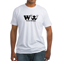 Wii Senior Bowler Fitted T-Shirt