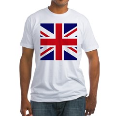 British Flag Union Jack Fitted T-Shirt