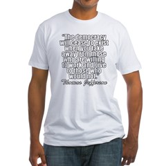 tj2 Fitted T-Shirt