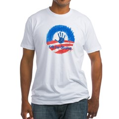 Kids for Obama Fitted T-Shirt