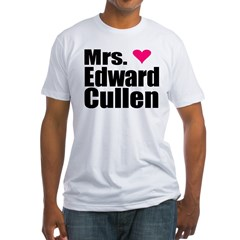 Mrs. Edward Cullen Fitted T-Shirt