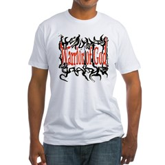 Warrior of God Fitted T-Shirt
