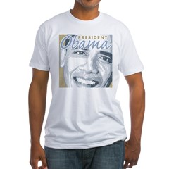 President Obama Fitted T-Shirt