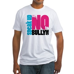 2-NoBullying Fitted T-Shirt