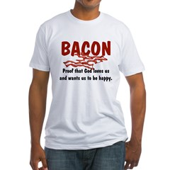 Bacon Fitted T-Shirt