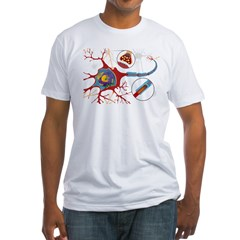 Neuron Fitted T-Shirt