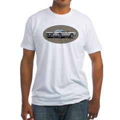 66-67 White / Silver GTO Convertible Fitted T-Shirt