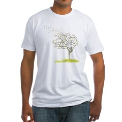 tree Fitted T-Shirt