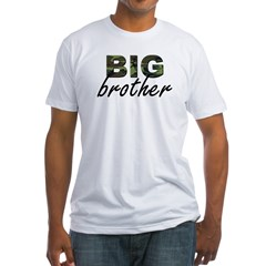 Big brother camo Fitted T-Shirt