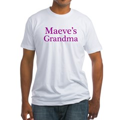 Grandma Fitted T-Shirt
