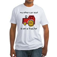 My Car Sea Fitted T-Shirt