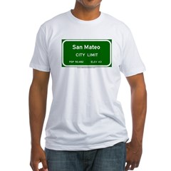 San Mateo Fitted T-Shirt